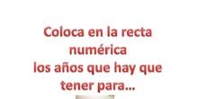 Recta numérica II