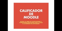 Video Presentación Calificador de Moodle