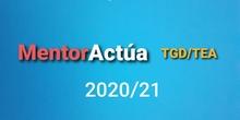 MentorActúa_TGD/TEA 20.21 CEIP NªSª de la Victoria & Claudio Vázquez