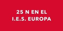 """DÍA CONTRA LA VIOLENCIA DE GÉNERO 2020 EN EL IES EUROPA DE RIVAS<span class=""""educational"""" title=""""Contenido educativo""""><span class=""""sr-av""""> - Contenido educativo</span></span>"""