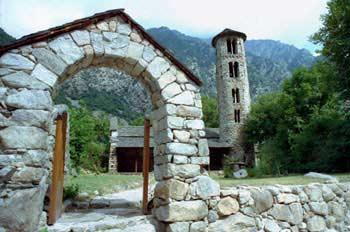 Iglesia de Santa Coloma, Principado de Andorra