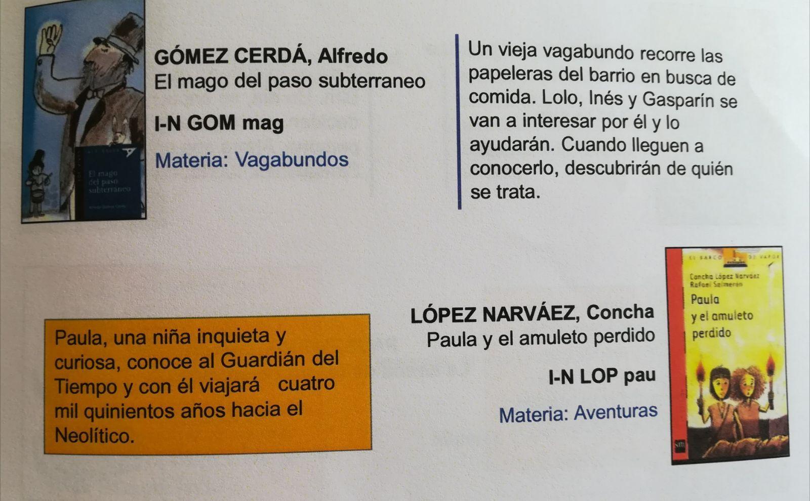 Lecturas recomendadas para 8 años_CEIP FDLR_Las Rozas_2018-2019 7