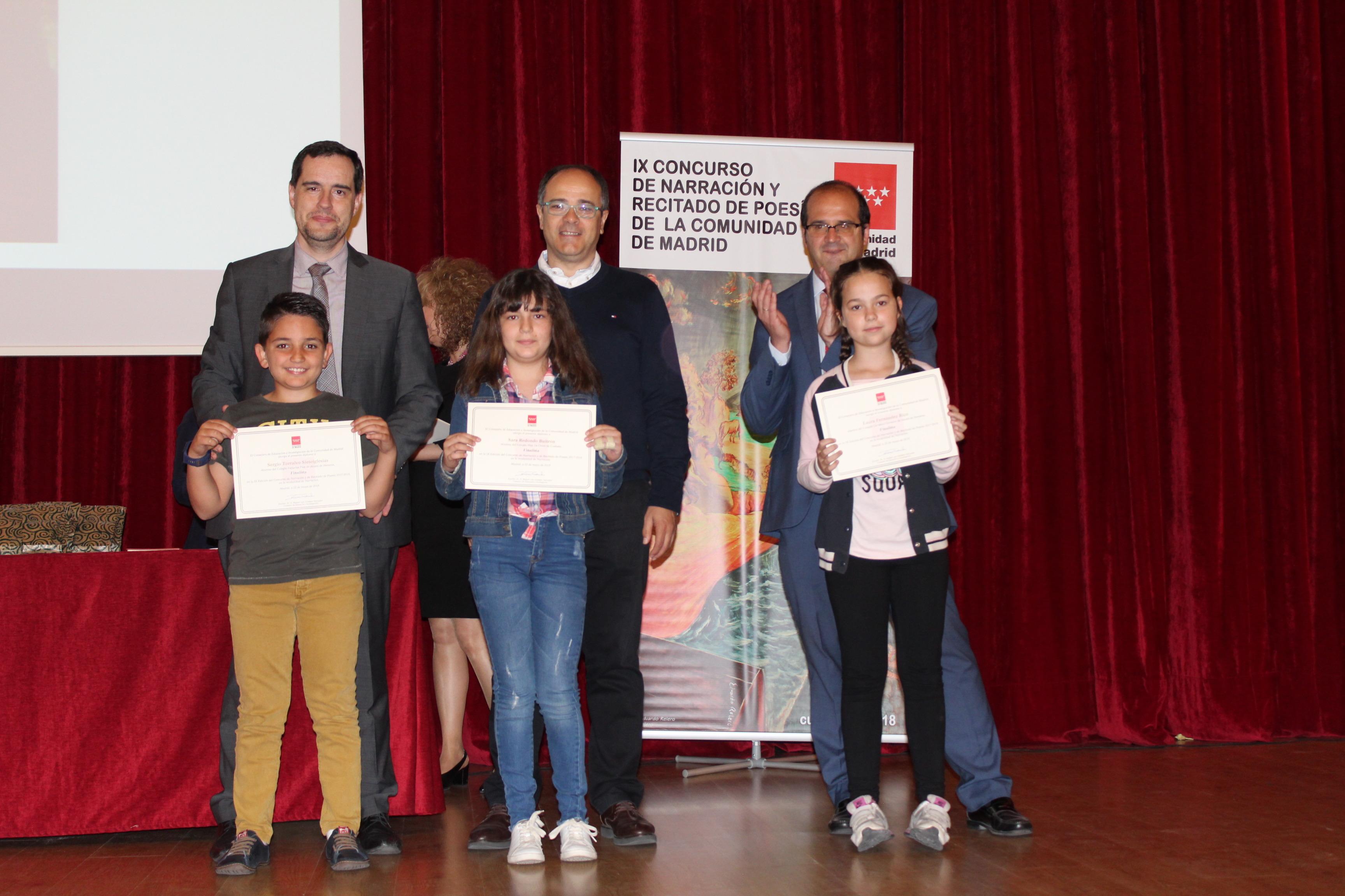 Entrega de los premios del IX Concurso de Narración y Recitado de Poesía 5