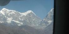 Himalaya visto desde un avión