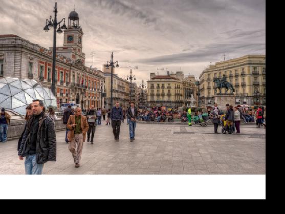Conoce tú BEC (Barrio-Entorno-Ciudad). Puerta  del Sol