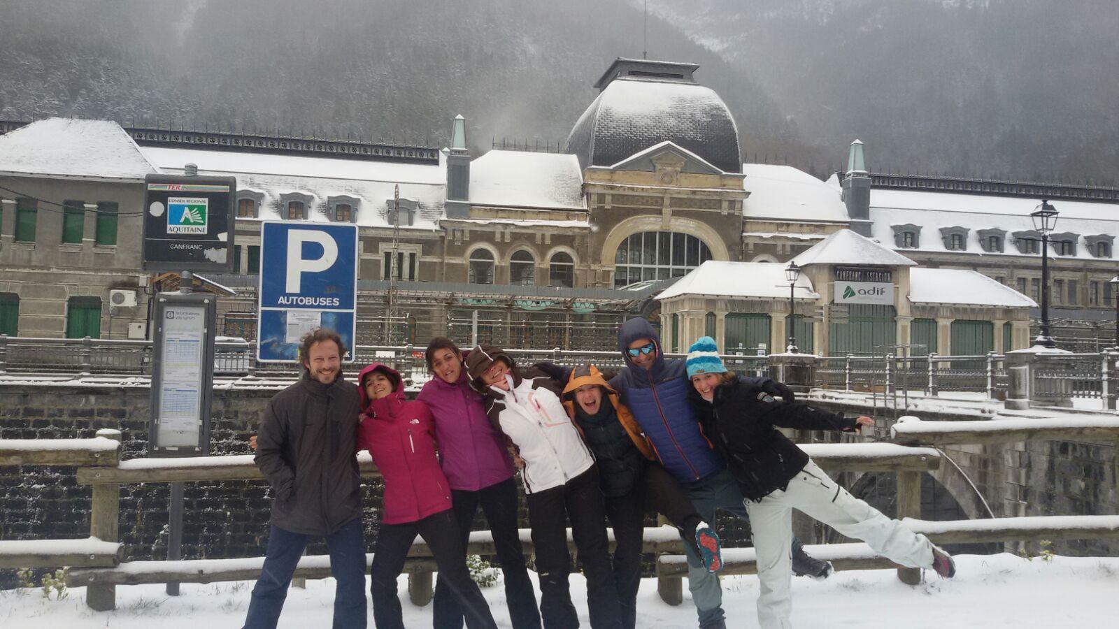 2017 excursión nieve 8