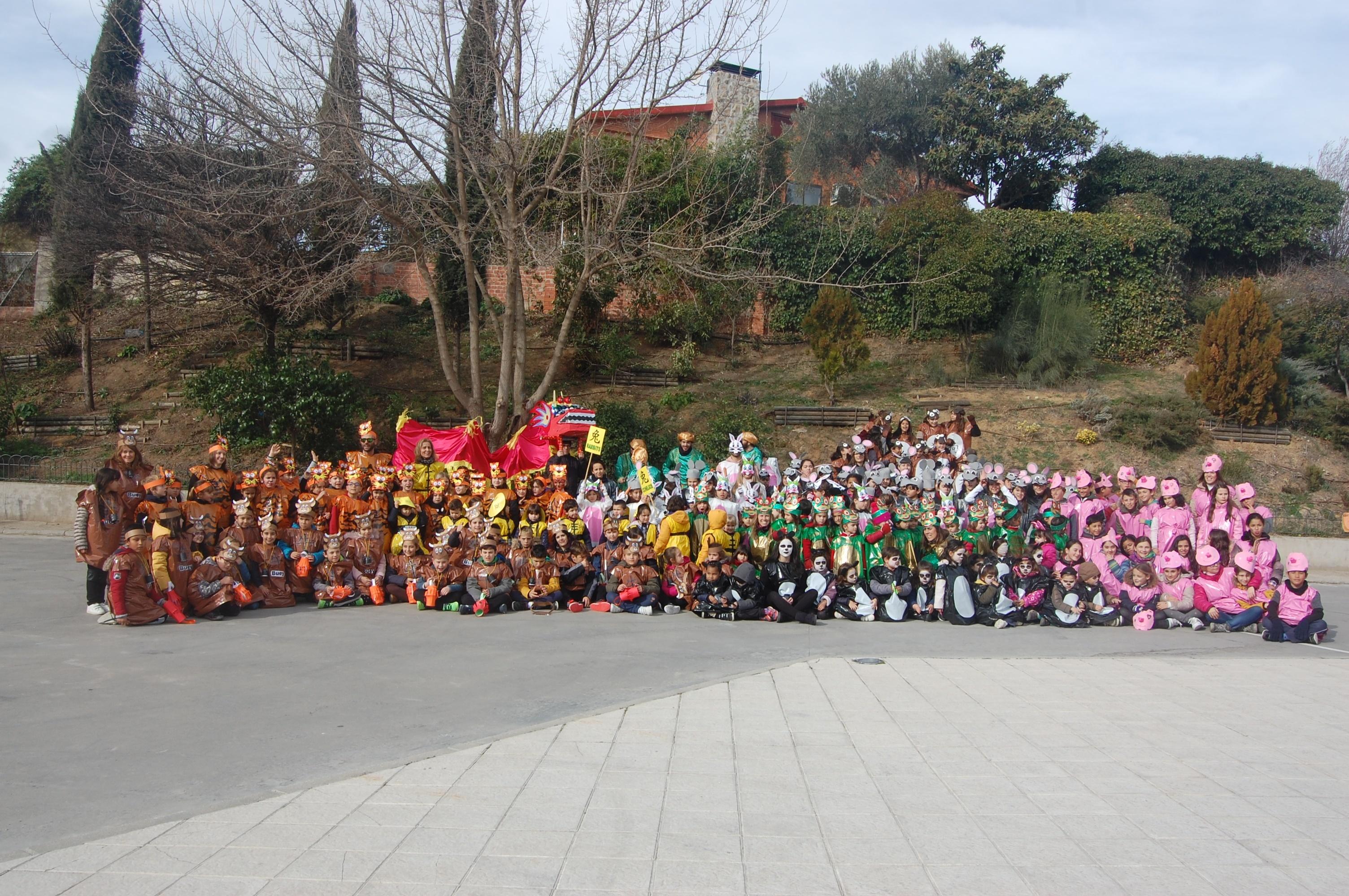CHINA Y LOS ANIMALES DE SU CALENDARIO LLEGAN A QUIJORNA