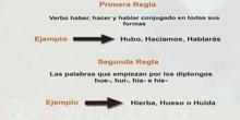 3ºS ORTOGRAFÍA LA H MARCO RODRÍGUEZ Y JAVIER GARCÍA