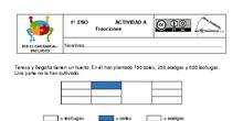 Actividades Grupos Interactivos IES El Carrascal Matemáticas 1ºFracciones
