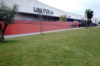 Salas kin polis ciudad de la imagen madrid mediateca for Sala 25 kinepolis madrid