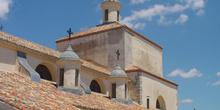 Campanario de iglesia en Brea de Tajo