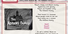 Canción la familia Addams
