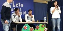 Jugadores del CD Leganés visitan el cole 6
