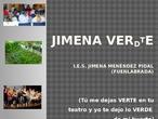 Aprendizaje Servicio JIMENA VERTDE