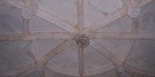 Detalle techumbre, Monasterio de Santa María de Huerta, Soria, C