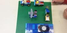 Vídeo Medios de transporte, Lego