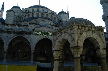 Sultan Ahmed o Mezquita Azul, Estambul, Turquía