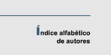BIBLIOTECA DEL HOLOCAUSTO 15 ÍNDICE ALFABÉTICO DE AUTORES
