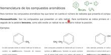 formulación aromáticos