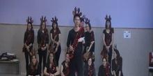 Actuación Infantil Navidad 2016 Coro Renos