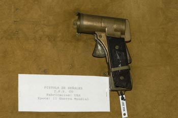 Pistola de señales I.F.S. CO, Museo del Aire de Madrid