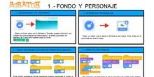 ¡Navega, velero mío! Fichas-Guía para crear una animación interactiva con Scratch 3.0