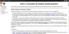 CSS Dispositivos y medias