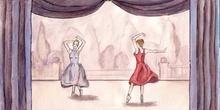 De mar y de tierra: Función de baile
