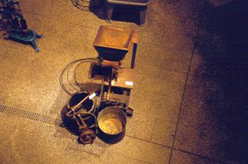 Máquina para el marcado de corchos, Museo de la Sidra de Asturia