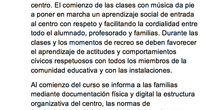 Normas de convivencia Ceip Ágora Brunete pag2