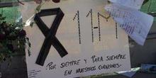 Mensaje dedicado a las víctimas de los Atentados del 11-M