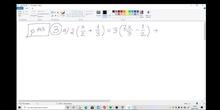 Ecuacion con paréntesis y denominadores