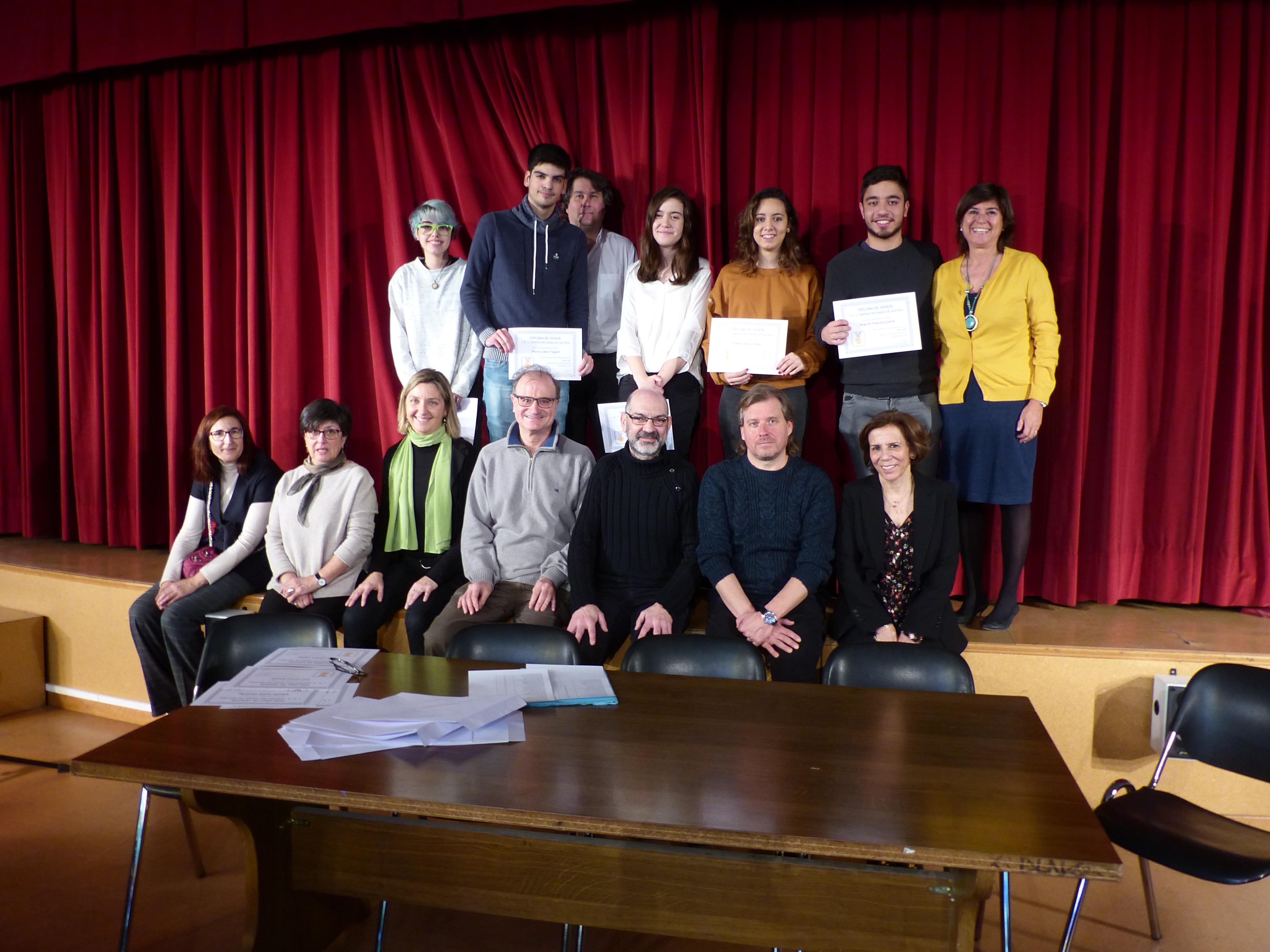 Acto Entrega Diplomas Menciones Honoríficas curso 2017-2018 7