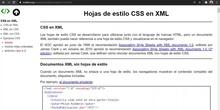 XML CSS