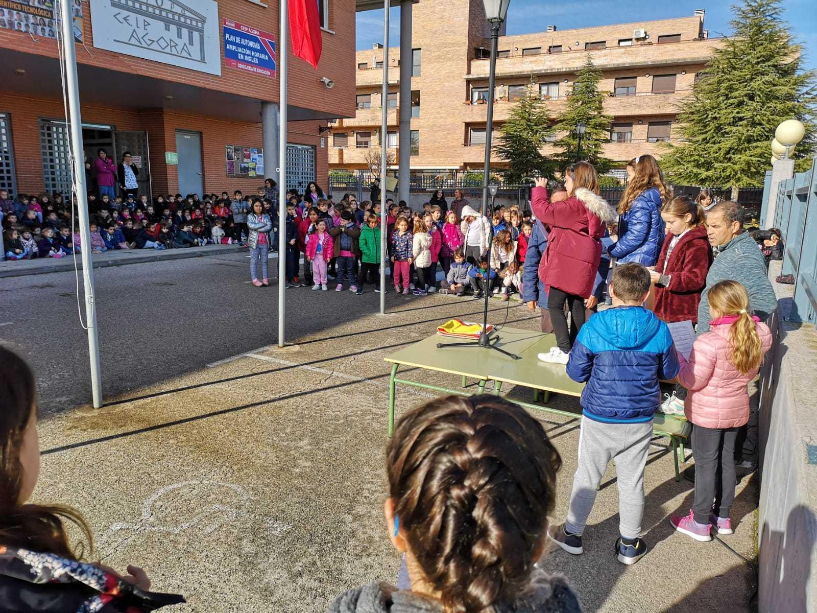 Dia de la Constitución ceip Ágora de Brunete 3