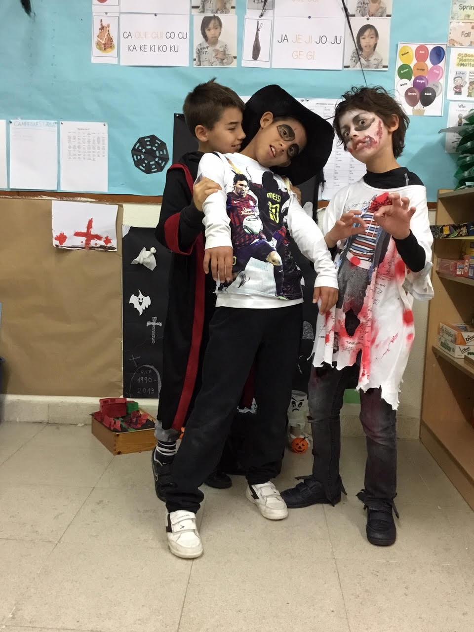 2018_10_31_Cuarto B disfruta en Halloween_CEIP FDLR_Las Rozas 4