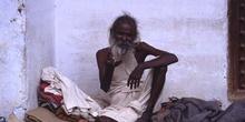 Retrato de hombre de blanco, Pushkar, India
