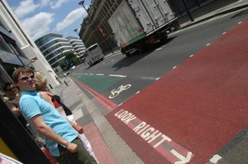 Circulación en Londres, Reino Unido