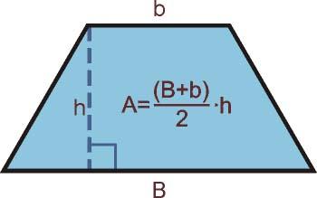 área del trapecio