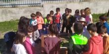 1B Visita el Huerta del Ceip El Greco