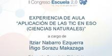 Aplicación de las TIC en ESO (Ciencias Naturales)