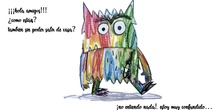 El monstruo de colores y el coronavirus