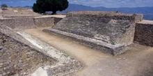Pistas de juego de pelota del conjunto arqueológico de Monte Alb