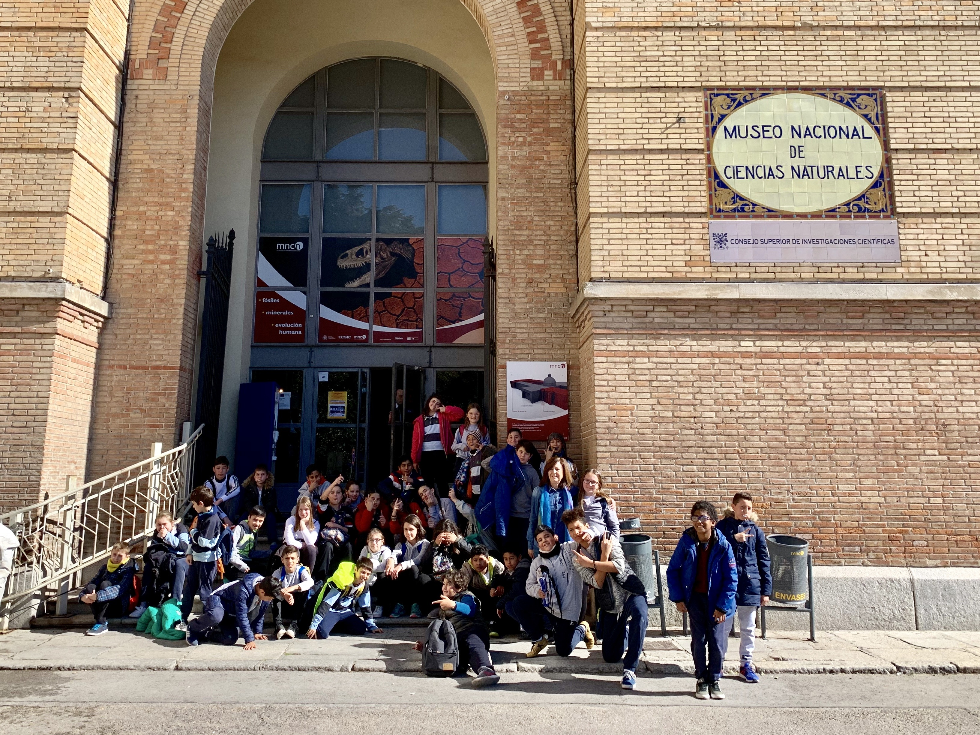 Excursión al Museo Nacional de Ciencias Naturales 15