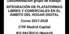 INTEGRACIÓN DE PLATAFORMAS LIBRES Y COMERCIALES EN EL ÁMBITO DEL HOGAR DIGITAL SOULISS
