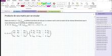 2Bto - 01 - Matrices - 05 - Producto de una matriz por un escalar
