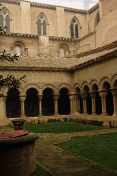 Claustro de la Catedral de Tudela, Navarra