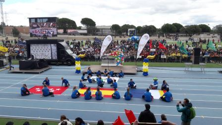 2018-04-09_Olimpiadas Escolares_CEIP FDLR_Las Rozas_Desfile