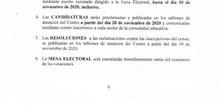 Convocatoria de Elecciones al Consejo Escolar 2020 y Publicación del Calendario_CEIP FDLR_LAS ROZAS