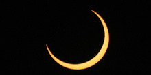 Fase central del eclipse anular 03